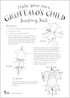 Gruffalo Jumping Jack Instructions