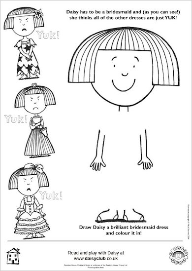 Draw a dress for Daisy