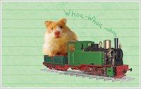 Humphrey Rides a Train wallpaper