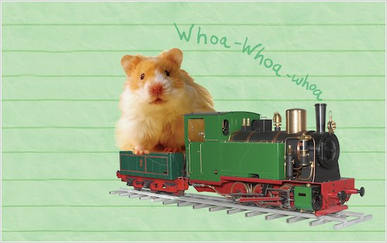 Humphrey Rides a Train wallpaper