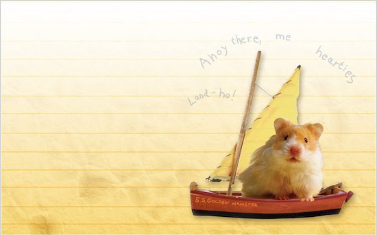Humphrey Sets Sail wallpaper