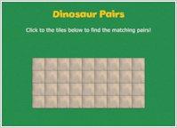 Dinosaur Roar! Pairs Game