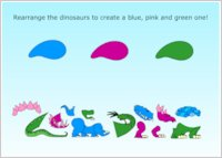 Dinosaur Roar! Dinosaur Parts Game