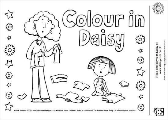 Colour in Daisy