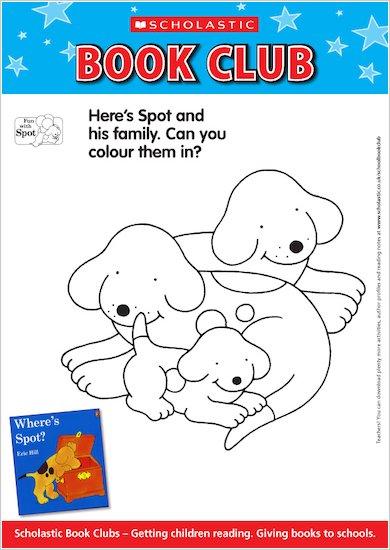 Colour in Spot