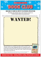 Making a WANTED! picture