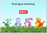 Dinosaur Roar! Memory Game