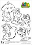 Dora Decorations (1 page)