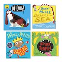 Lollies 2017 Ages 0-5 Shortlist Multipack x 6 (24 books in total)