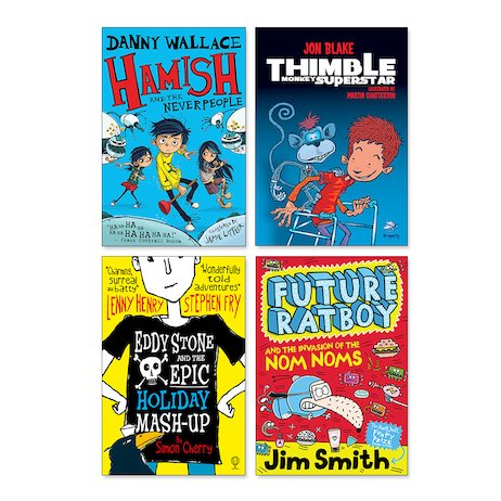 Lollies 2017 Ages 6-8 Shortlist Multipack x 30 (120 books in total)
