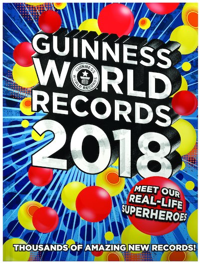 guinness world records 2018 scholastic shop. Black Bedroom Furniture Sets. Home Design Ideas