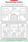 Imaginary worlds: Comparing castles (1 page)