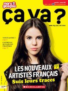 Ça Va ? Magazine cover