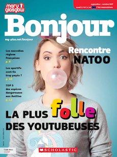 Bonjour Magazine cover