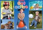 Get active – poster