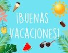 Buenas vacaciones