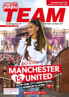 Team Magazine cover