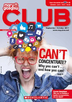 Club Magazine cover