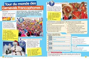 Tour du monde des carnavals francophones !