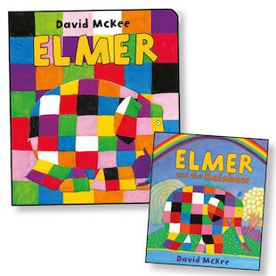 Elmer with FREE Elmer and the Rainbow Mini Edition