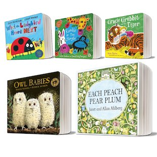 Board Book Favourites Pack x 5