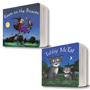 Julia Donaldson and Axel Scheffler Rhyming Board Books Pair