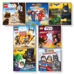 LEGO® Picture Books Pack x 7