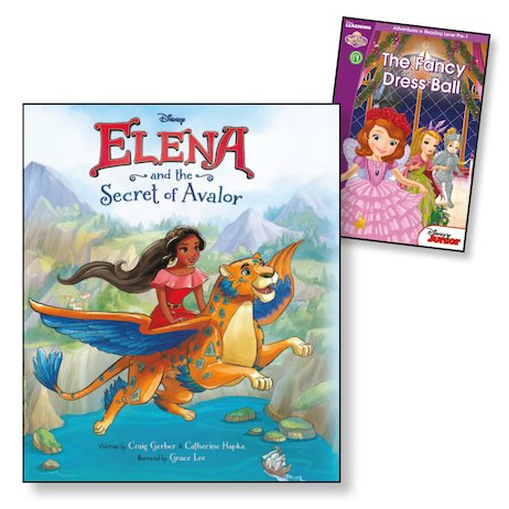 Disney Elena and the Secret of Avalor with FREE Disney Sofia the First: The Fancy Dress Ball