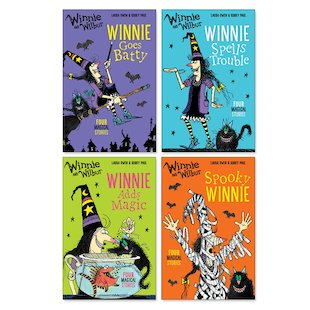 Winnie and Wilbur Fiction Pack x 4