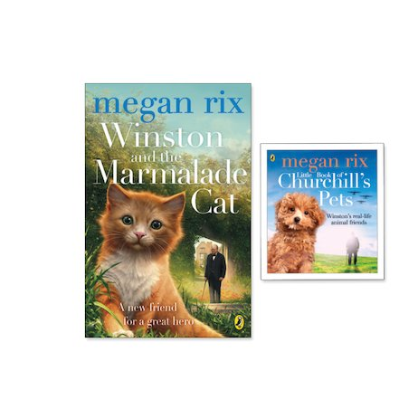Winston and the Marmalade Cat with FREE Little Book of Churchill's Pets