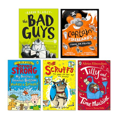 Funny Fiction Age 7+ Pack x 5