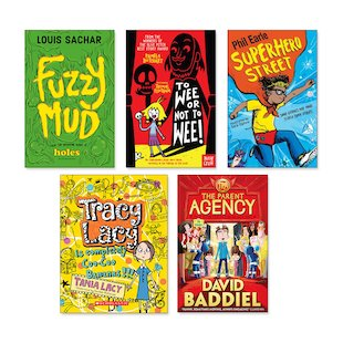 Funny Fiction Age 9+ Pack x 5