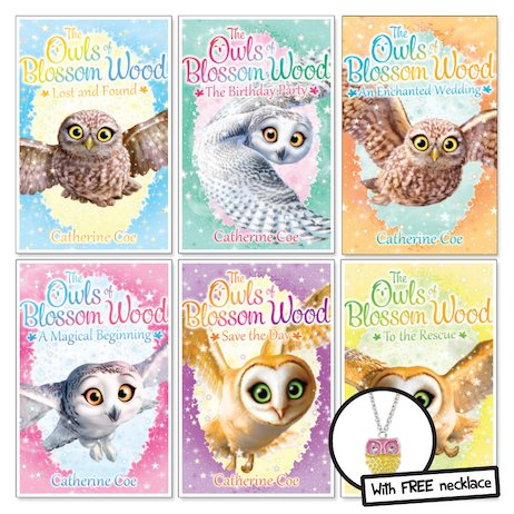 The Owls of Blossom Wood Pack x 6