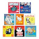 Scholastic New Titles Ages 3-7 Pack x 8