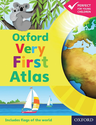 Oxford Very First Atlas x 6