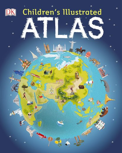DK Children's Illustrated Atlas x 30