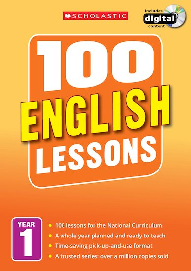 100 English Lessons Years 1-6 Pack x 6