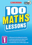 100 Maths Lessons Years 1-6 Pack x 6