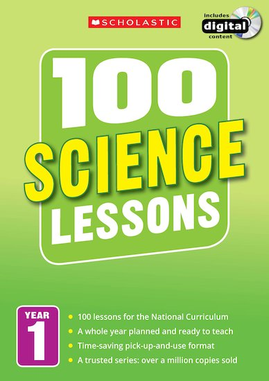 100 Science Lessons Years 1-6 Pack x 6