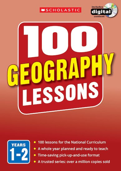 100 Geography Lessons Years 1-6 Pack x 3