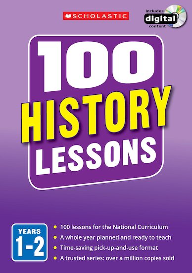 100 History Lessons Years 1-6 Pack x 3