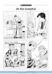 At the hospital - scenes (1 page)