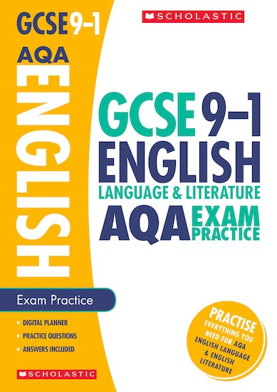 GCSE Grades 9-1: English Language and Literature AQA Exam Practice Book x 10