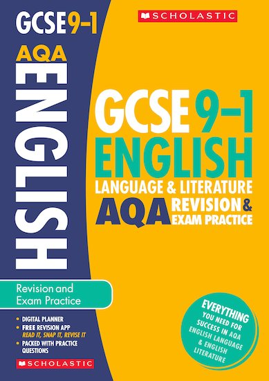 GCSE Grades 9-1: English Language and Literature AQA Revision and Exam Practice Book x 10