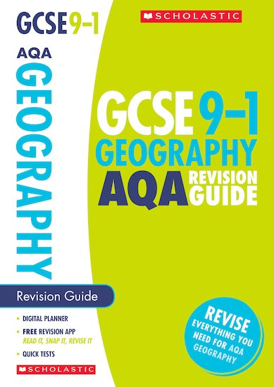 GCSE Grades 9-1: Geography AQA Revision Guide x 10