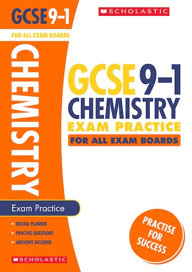 GCSE Grades 9-1: Chemistry Exam Practice Book for All Boards x 10