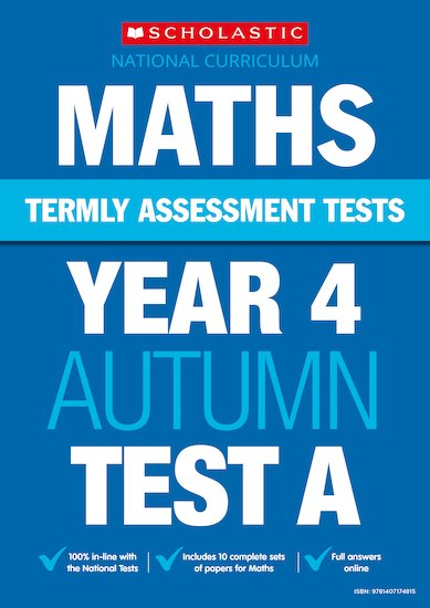 Termly Assessment Tests: Year 4 Maths Tests A, B and C x 90
