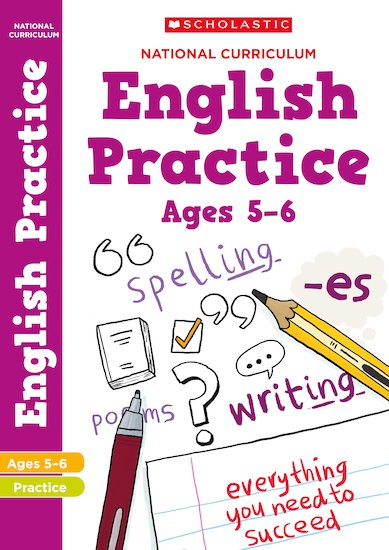 100 Practice Activities: National Curriculum English Practice Book for Year 1 x 30