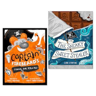 Captain Firebeard's School For Pirates Pair