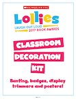 2017 Lollies Classroom Decoration Kit (8 pages)